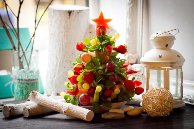 фруктовые салаты на новый год 1