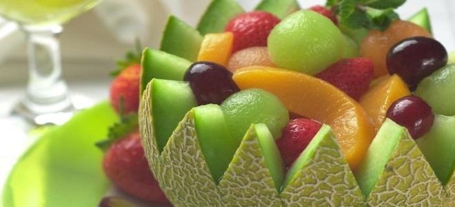 фруктовый салат для детей на день рождения