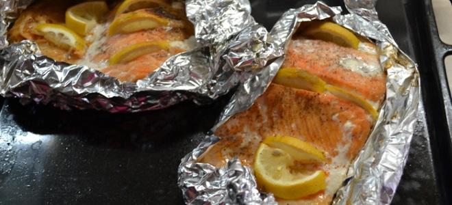 Горбуша запеченная в фольге в духовке с картошкой рецепт с пошагово в