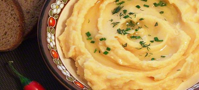 гороховое пюре рецепт приготовления