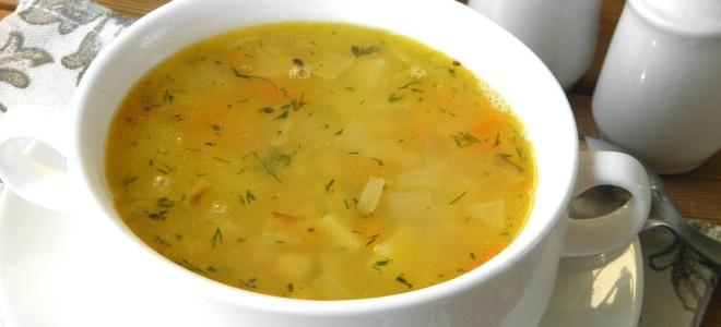 Гороховый суп без картошки и мяса