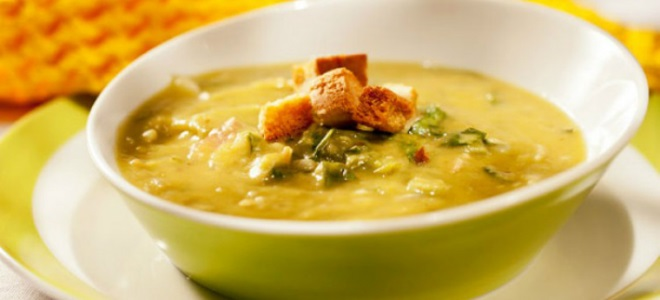 гороховый суп без мяса