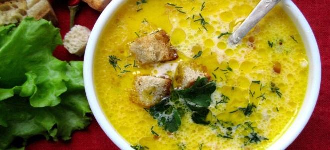 гороховый суп с копченым сыром