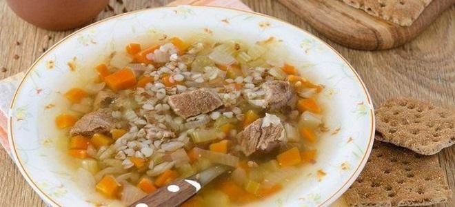 гречневый суп рецепт с говядиной