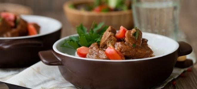 рецепт говядина с подливкой в мультиварке рецепт