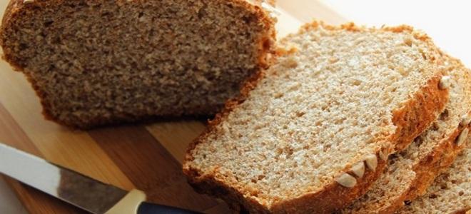 хлеб с отрубями на кефире