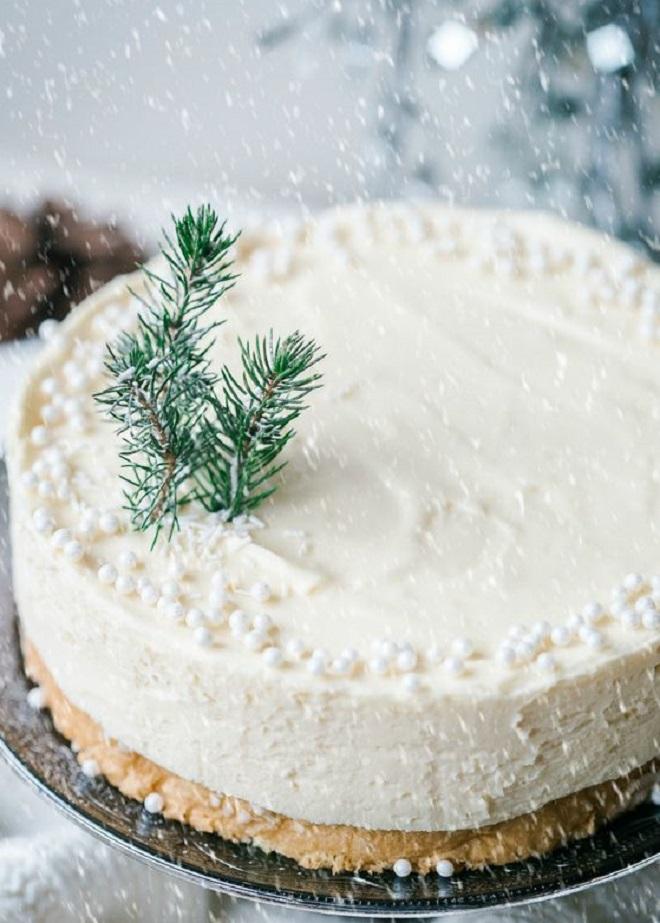 Идеи оформления новогодних тортов 4