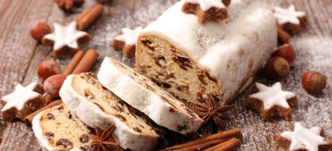 имбирный рождественский кекс