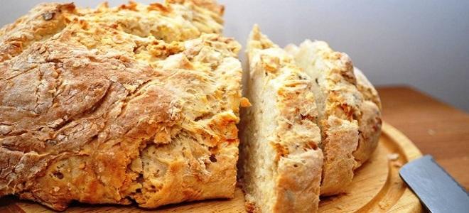 ирландский хлеб на кефире