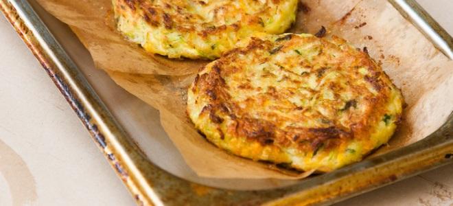 Кабачковые оладьи с сыром рецепт с пошагово в духовке