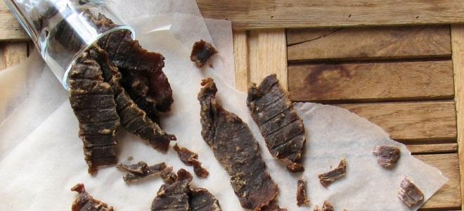 как хранить вяленое мясо в домашних условиях