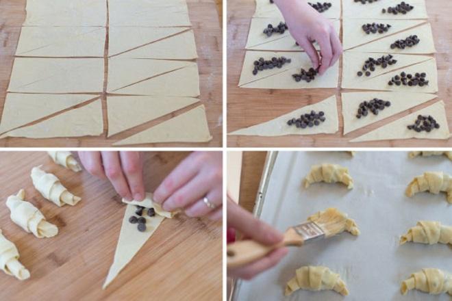 Как сделать слоеное тесто на круассаны 824