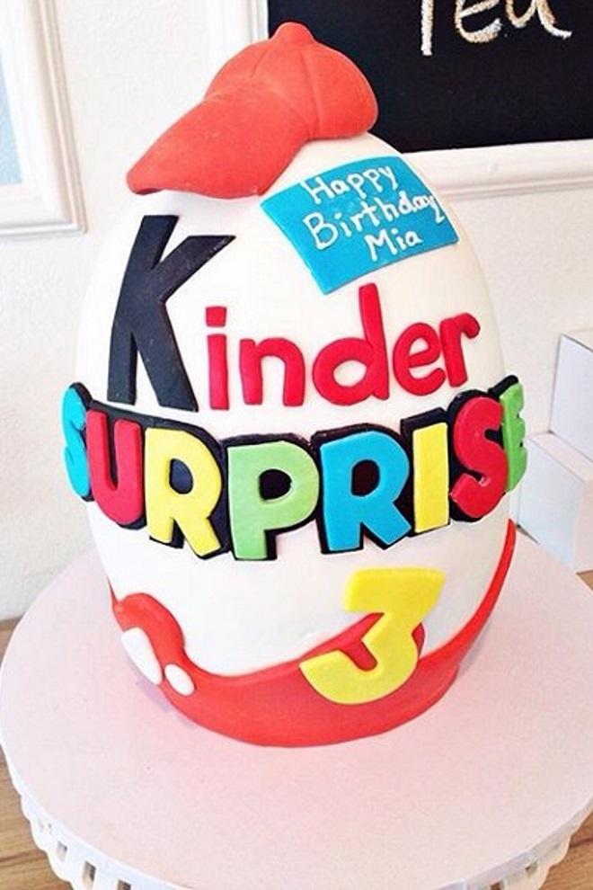Как сделать торт «Киндер сюрприз» идеи декора 1