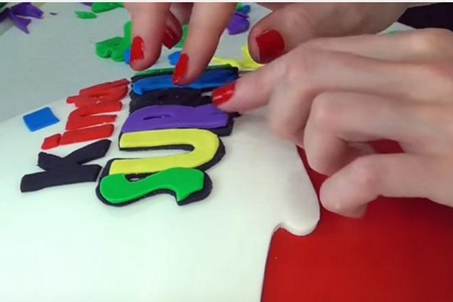 Как сделать торт Киндер сюрприз мастер-класс 8