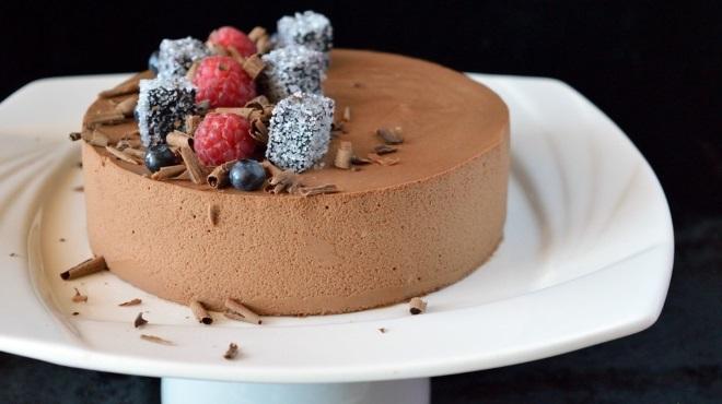 Рецепт муссового торта с зеркальной
