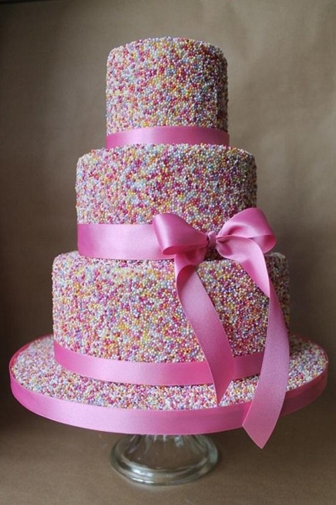 Украсить торт мастикой своими руками для девочки