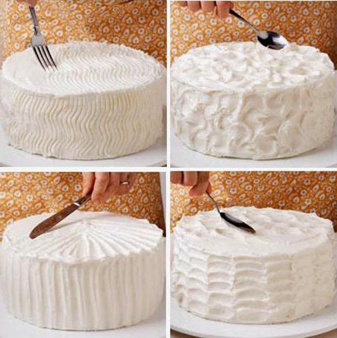 Украсить торт дома фото