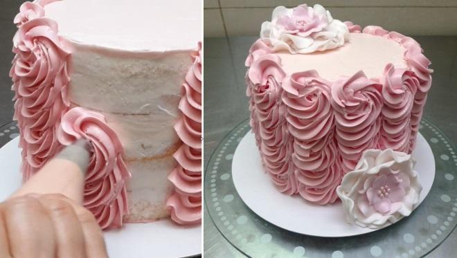 Густой крем для покрытия торта