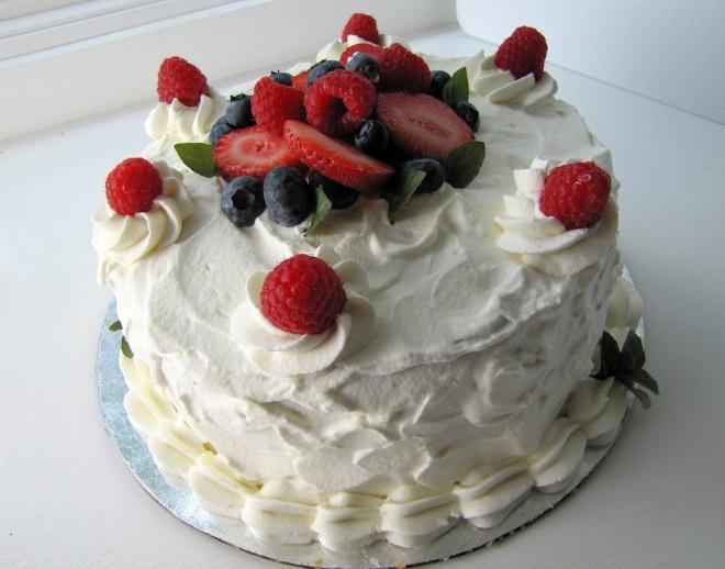 Сливочно белковый крем для украшения торта