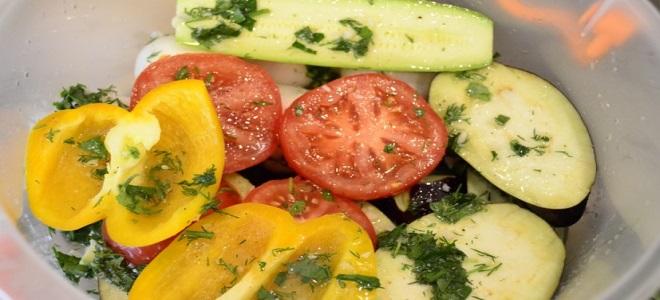 Как замариновать овощи для мангала