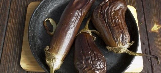 Как запечь баклажаны в духовке целыми