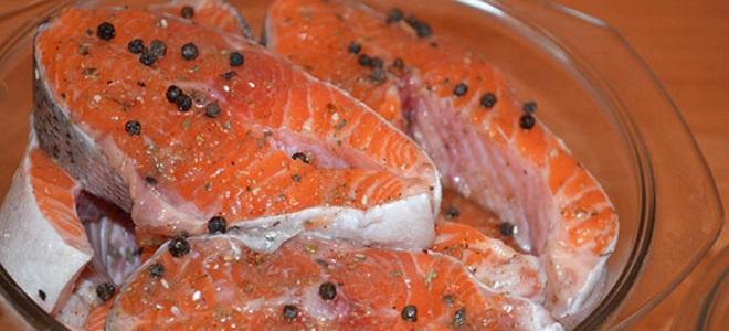 рецепт маринада для стейка из рыбы вам