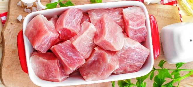 С какой части делать шашлык из свинины