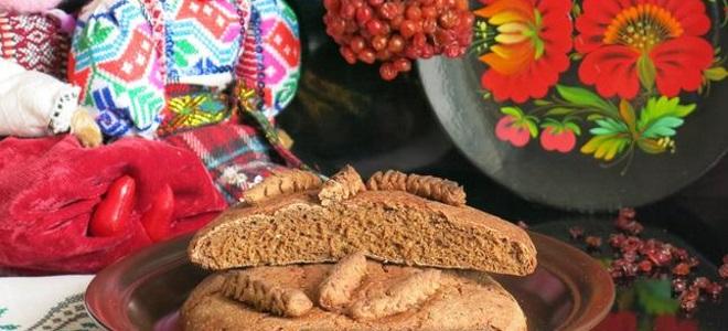 калиновый пирог старинный рецепт