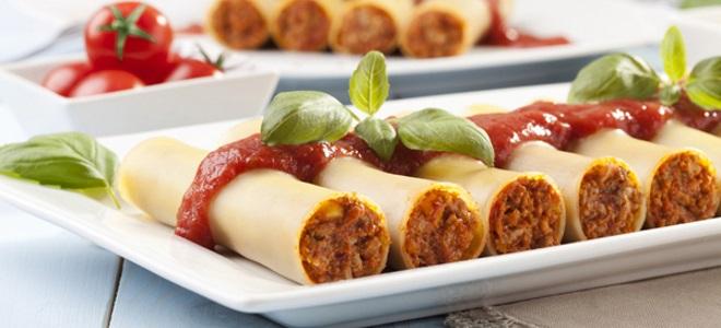 Каннеллони - вкусный рецепт с пошаговым фото