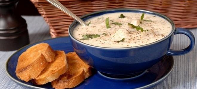 Картофельный суп-пюре с фрикадельками - рецепт