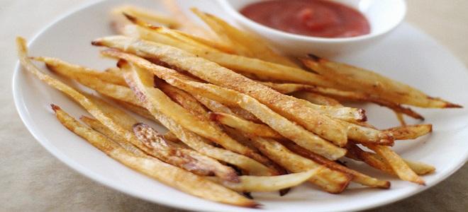 Как сделать картошку фри без масла фото 752