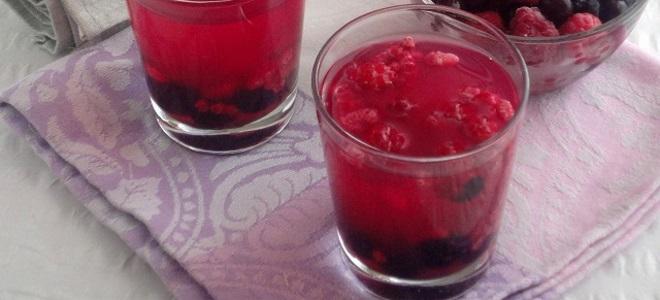 кисель из ягод с крахмалом