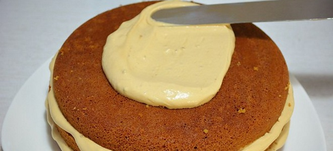 классический заварной крем для бисквита рецепт