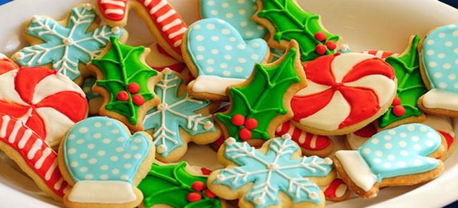 классическое имбирное печенье на новый год рецепт