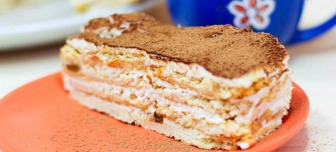 Медовый торт на скорую руку - povar.ru