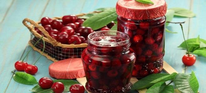 Компот из красной смородины и вишни на зиму простой рецепт