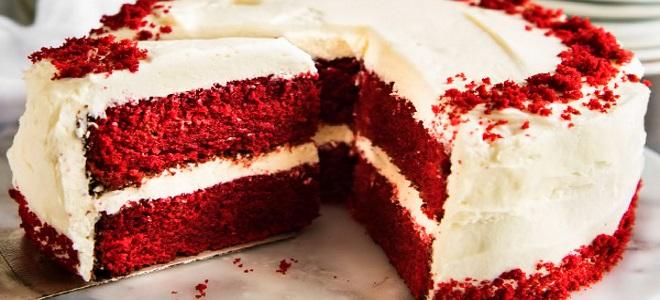 коржи для торта красный бархат