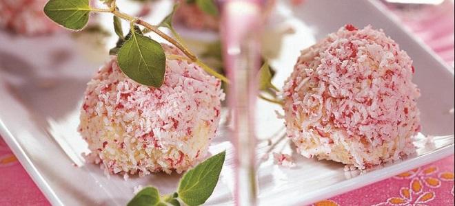 Крабовые шарики с сыром и чесноком - «Рафаэлло»