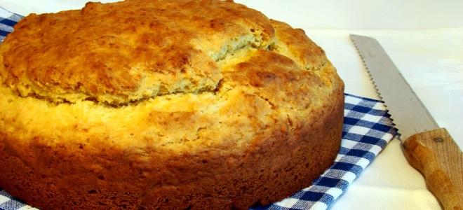 кукурузный хлеб на кефире