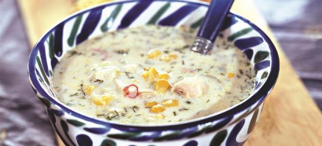 кукурузный суп
