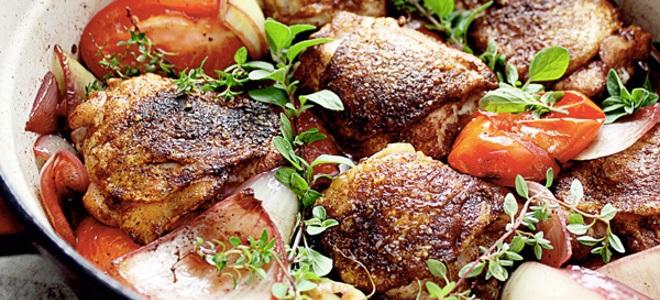 Курица в вине красном рецепт с фото