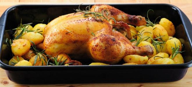 как готовить целую курицу в духовке рецепты