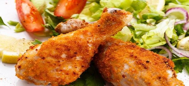 Куриные ножки в кляре рецепт с пошагово на сковороде