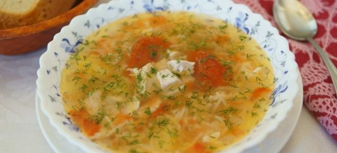 куриный суп с помидорами и картошкой