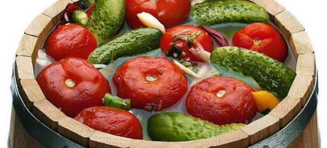 Квашеные овощи ассорти