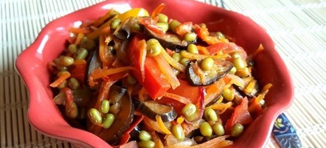 маш с овощами – рецепт