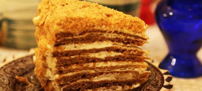 Торт Медовик со сметанным кремом 89