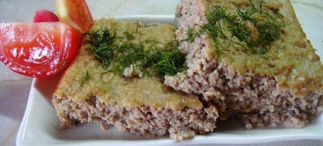 мясное суфле из говядины