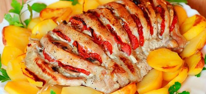 Мясо гармошка