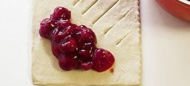 Как сделать начинку из замороженных вишен